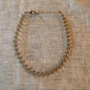 BaubleBar stretch choker necklace.